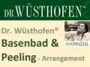 Dr.Wüsthofen® Basen-Bad & Peeling Arrangement