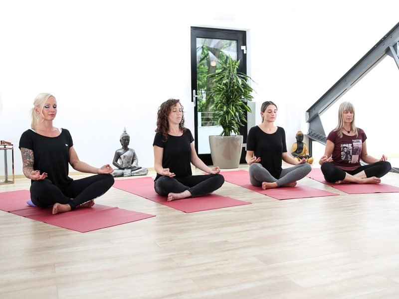 Yoga in der Gruppe